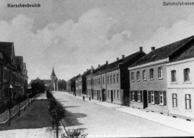 Hindenburgstr früher Bahnhofsstr