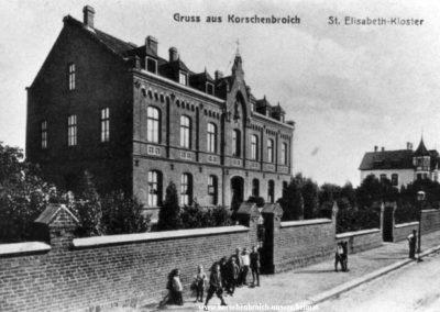 Regentenstr Kloster heute Niederrheinklinik