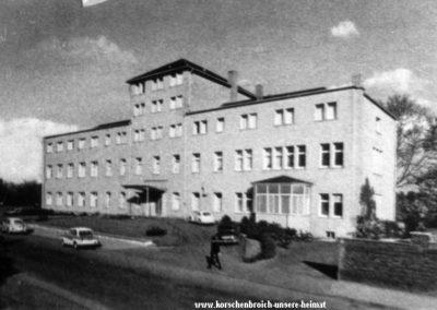 Regentenstr_altes Krankenhaus heute Niederrheinklinik