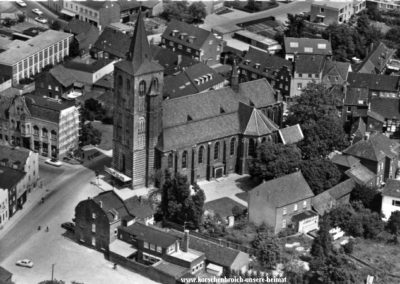 Luftbild Korschenbroich_Kirche