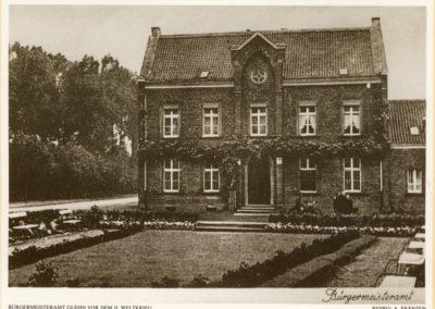 Glehn Bürgermeisteramt vor 1939
