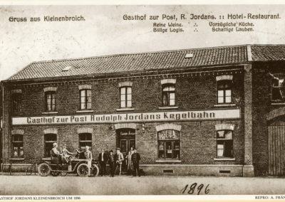 Kleinenbroich Gasthof zur Post 1896